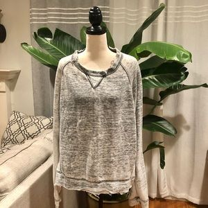 Jc fit terry heather grey top